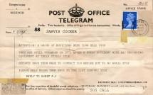 Telegrams from 1971