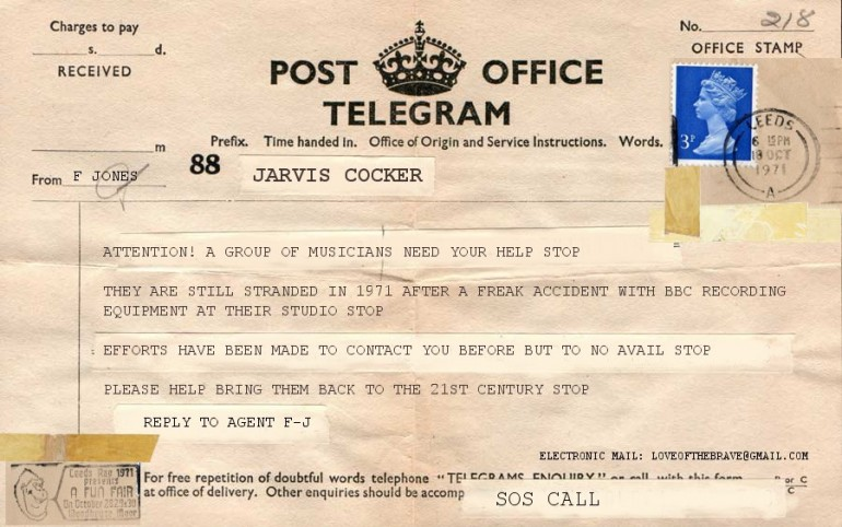 Telegrams from 1971