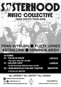 Sisterhood Music Collective - Head South Tour