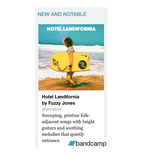 Bandcamp New and Notable