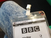 Back at the Beeb!