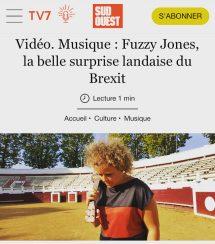 """SUD OUEST article - """"La belle surprise landaise du Brexit""""- Aug '21"""