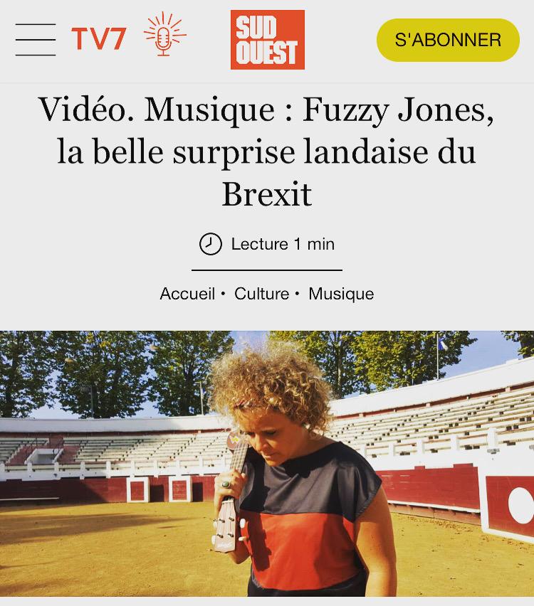 """SUD OUEST article - """"La belle surprise landaise du Brexit"""""""